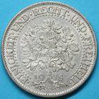 Photo numismatique  MONNAIES MONNAIES DU MONDE ALLEMAGNE République de WEIMAR (1919-1933) 5 Reichsmark de Stuttgart 1928.