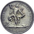 Photo numismatique  ARCHIVES VENTE 2014 -Coll J P Dixméras MEDAILLES ET JETONS LOUIS XVI (1774-1793) et RÉVOLUTION FRANÇAISE  1656- Jeton de l'Académie royale de Peinture et Sculpture, (1791).