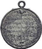 Photo numismatique  ARCHIVES VENTE 2014 -Coll J P Dixméras MÉDAILLES ET JETONS LOUIS XVI (1774-1793) et RÉVOLUTION FRANÇAISE  1654- Confédération  au Champ de Mars, le 14 juillet 1790.
