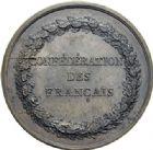 Photo numismatique  ARCHIVES VENTE 2014 -Coll J P Dixméras MEDAILLES ET JETONS LOUIS XVI (1774-1793) et RÉVOLUTION FRANÇAISE  1652- Confédération du 14 juillet 1790.