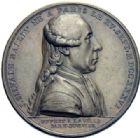 Photo numismatique  ARCHIVES VENTE 2014 -Coll J P Dixméras MEDAILLES ET JETONS LOUIS XVI (1774-1793) et RÉVOLUTION FRANÇAISE  1649- Lot de 2 médailles, J. Silvain maire de Paris.