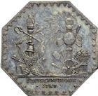 Photo numismatique  ARCHIVES VENTE 2014 -Coll J P Dixméras MEDAILLES ET JETONS LOUIS XVI (1774-1793) et RÉVOLUTION FRANÇAISE  1648 - jeton des Etats Généraux.
