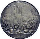 Photo numismatique  ARCHIVES VENTE 2014 -Coll J P Dixméras MÉDAILLES ET JETONS LOUIS XVI (1774-1793) et RÉVOLUTION FRANÇAISE  1647- Prise de la Bastille par Andrieu, le 14 juillet 1789, uniface.
