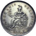 Photo numismatique  ARCHIVES VENTE 2014 -Coll J P Dixméras MEDAILLES ET JETONS LOUIS XVI (1774-1793) et RÉVOLUTION FRANÇAISE  1644- Jeton de l'Orient de Paris, Loge de la Paix, 1789.