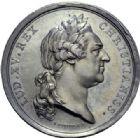 Photo numismatique  ARCHIVES VENTE 2014 -Coll J P Dixméras MEDAILLES ET JETONS LOUIS XV (1715-1774)  1642- Médaille en argent, Mariage du Comte de Provence et de Marie Joséphine Louise de Savoie, 1771.