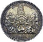 Photo numismatique  ARCHIVES VENTE 2014 -Coll J P Dixméras MÉDAILLES ET JETONS LOUIS XIV (1643-1715) et son époque  1639- Médaille en argent, Siège de Lille, 22 août au 23 octobre 1708.