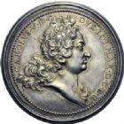 Photo numismatique  ARCHIVES VENTE 2014 -Coll J P Dixméras MEDAILLES ET JETONS LOUIS XIV (1643-1715) et son époque  1638- Médaille en argent, Charles V de Lorraine (1675-1690) et Éléonore d'Autriche.