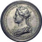 Photo numismatique  ARCHIVES VENTE 2014 -Coll J P Dixméras MÉDAILLES ET JETONS LOUIS XIV (1643-1715) et son époque  1638- Médaille en argent, Charles V de Lorraine (1675-1690) et Éléonore d'Autriche.