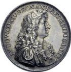 Photo numismatique  ARCHIVES VENTE 2014 -Coll J P Dixméras MÉDAILLES ET JETONS LOUIS XIV (1643-1715) et son époque  1637- Médaille en argent pour l'inauguration de l'Observatoire, 1667.