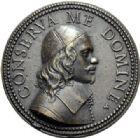 Photo numismatique  ARCHIVES VENTE 2014 -Coll J P Dixméras MÉDAILLES ET JETONS LOUIS XIV (1643-1715) et son époque  1636- Médaille en bronze de Guy Potier, médecin du Roi, Rome 1689.