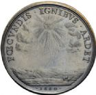 Photo numismatique  ARCHIVES VENTE 2014 -Coll J P Dixméras MÉDAILLES ET JETONS LOUIS XIV (1643-1715) et son époque  1632- Médaille en bronze des cérémonies du mariage du Roi par Loir, 1660.