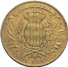 Photo numismatique  ARCHIVES VENTE 2014 -Coll J P Dixméras MONNAIES DU MONDE MONACO ALBERT Ier (1889-1922) 1623- 100 francs or, Paris 1901.