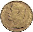 Photo numismatique  ARCHIVES VENTE 2014 -Coll J P Dixméras MONNAIES DU MONDE MONACO ALBERT Ier (1889-1922) 1622- 100 francs or, Paris 1891.
