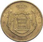 Photo numismatique  ARCHIVES VENTE 2014 -Coll J P Dixméras MONNAIES DU MONDE MONACO CHARLES III (1856-1889) 1621- 100 francs or, Paris 1886.