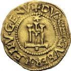 Photo numismatique  ARCHIVES VENTE 2014 -Coll J P Dixméras MONNAIES DU MONDE ITALIE GÊNES, République, période des doges (1528-1542) 1615- Scudo d'oro.