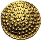 Photo numismatique  ARCHIVES VENTE 2014 -Coll J P Dixméras MONNAIES DU MONDE INDE Présidence de MADRAS (vers 1750) 1614- Pagode d'or (vers 1750).
