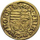 Photo numismatique  ARCHIVES VENTE 2014 -Coll J P Dixméras MONNAIES DU MONDE HONGRIE MATTHIAS CORVINUS (1458-1490) 1613- Ducat d'or.