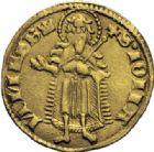 Photo numismatique  ARCHIVES VENTE 2014 -Coll J P Dixméras MONNAIES DU MONDE HONGRIE LOUIS le GRAND (1342-1382) 1612- LOUIS le GRAND (1342-1382). Florin d'or.