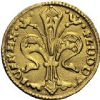 Photo numismatique  ARCHIVES VENTE 2014 -Coll J P Dixméras MONNAIES DU MONDE HONGRIE LOUIS le GRAND (1342-1382) 1612- LOUIS le GRAND (1342-1382). Florin d'or.