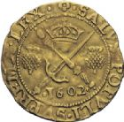 Photo numismatique  ARCHIVES VENTE 2014 -Coll J P Dixméras MONNAIES DU MONDE ÉCOSSE JACQUES VI (1567-1625) 1610- Sword and Sceptre piece, 1602.