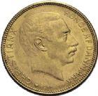 Photo numismatique  ARCHIVES VENTE 2014 -Coll J P Dixméras MONNAIES DU MONDE DANEMARK CHRISTIAN X (1912-1947) 1609- 20 kroner 1914.