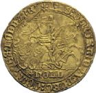 Photo numismatique  ARCHIVES VENTE 2014 -Coll J P Dixméras MONNAIES DU MONDE PAYS-BAS HOLLANDE, PHILIPPE LE BON (1433-1467) 1603- Cavalier d'or.