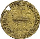 Photo numismatique  ARCHIVES VENTE 2014 -Coll J P Dixméras MONNAIES DU MONDE BELGIQUE BRABANT, Jeanne et Wenceslas (1355-1383) 1598- Grand mouton d'or, Vilvorde vers 1366.