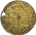 Photo numismatique  ARCHIVES VENTE 2014 -Coll J P Dixméras MONNAIES DU MONDE BELGIQUE BRABANT, Jeanne et Wenceslas (1355-1383) 1598- Grand mouton d'or, Vilvorde vers 1366.