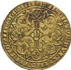 Photo numismatique  ARCHIVES VENTE 2014 -Coll J P Dixméras MONNAIES DU MONDE BELGIQUE FLANDRE, Louis de Mâle (1346-1384) 1593- Viel heaume d'or, Gand 1368-1369.