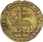 Photo numismatique  ARCHIVES VENTE 2014 -Coll J P Dixméras MONNAIES DU MONDE BELGIQUE FLANDRE, Louis de Mâle (1346-1384) 1590- Mouton d'or.