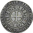 Photo numismatique  ARCHIVES VENTE 2014 -Coll J P Dixméras BARONNIALES Imitation Allemande  1587- Gros tournois.