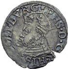 Photo numismatique  ARCHIVES VENTE 2014 -Coll J P Dixméras BARONNIALES Comté de BOURGOGNE Atelier de Dôle 1581- Lot de 6 monnaies.