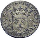 Photo numismatique  ARCHIVES VENTE 2014 -Coll J P Dixméras BARONNIALES   1578- Imitation du monnayage d'Anne-Marie-Louise. 1/12 d'écus ou luigini (2), Tassarolo, 1666.