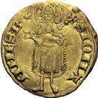 Photo numismatique  ARCHIVES VENTE 2014 -Coll J P Dixméras BARONNIALES Principauté d'ORANGE RAYMOND V (1340-1393) 1571- Florin d'or.
