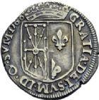 Photo numismatique  ARCHIVES VENTE 2014 -Coll J P Dixméras BARONNIALES Royaume de NAVARRE HENRI III (1572-1589) 1567- Lot de 3 monnaies.