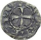 Photo numismatique  ARCHIVES VENTE 2014 -Coll J P Dixméras BARONNIALES Royaume de NAVARRE THIBAUT II (1253-1270) 1566- Denier.