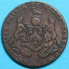 Photo numismatique  MONNAIES MONNAIES DU MONDE ANGLETERRE Election du Prince de Galle, le 24 nov. 1790. Jeton.