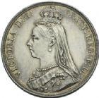 Photo numismatique  MONNAIES MONNAIES DU MONDE ANGLETERRE VICTORIA (1837-1901) Couronne d'argent de 1887.