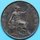 Photo numismatique  MONNAIES MONNAIES DU MONDE ANGLETERRE VICTORIA (1837-1901)  Penny de 1898.