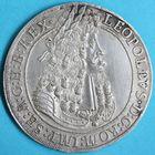Photo numismatique  MONNAIES MONNAIES DU MONDE AUTRICHE LEOPOLD Ier (1657-1705) Thaler de 1704, frappé à Hall.
