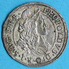 Photo numismatique  MONNAIES MONNAIES DU MONDE AUTRICHE LEOPOLD Ier (1657-1705) 3 kreuzer de 1678 frappé à Hall.