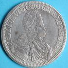 Photo numismatique  MONNAIES MONNAIES DU MONDE AUTRICHE CHARLES VI (1711-1740) Double Thaler non daté, frappé à Hall.