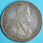 Photo numismatique  MONNAIES MONNAIES DU MONDE AUTRICHE CHARLES VI (1711-1740)  Thaler de 1718, frappé à Hall.