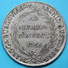 Photo numismatique  MONNAIES MONNAIES DU MONDE AUTRICHE MARIE-THÉRÈSE (1740-1780)  Thaler de Convention de 1766, frappé à Burgau.