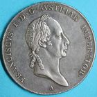 Photo numismatique  MONNAIES MONNAIES DU MONDE AUTRICHE FRANCOIS II (1792-1806-1835) Thaler de 1830, frappé à Vienne.