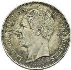 Photo numismatique  MONNAIES MONNAIES DU MONDE BELGIQUE ROYAUME, Léopold Ier (1831-1865) Module de 5 francs de 1853.