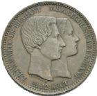 Photo numismatique  MONNAIES MONNAIES DU MONDE BELGIQUE ROYAUME, Léopold Ier (1831-1865) Module de 10 centimes de 1853.
