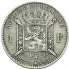Photo numismatique  MONNAIES MONNAIES DU MONDE BELGIQUE ROYAUME, Léopold II. (1865-1909) 1 franc, 50e anniversaire de l'indépendance en 1880.