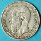 Photo numismatique  MONNAIES MONNAIES DU MONDE BELGIQUE ROYAUME, Léopold II. (1865-1909) 50 centimes de 1886.
