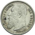 Photo numismatique  MONNAIES MONNAIES DU MONDE BELGIQUE ROYAUME, Léopold II. (1865-1909) 2 francs de 1904.